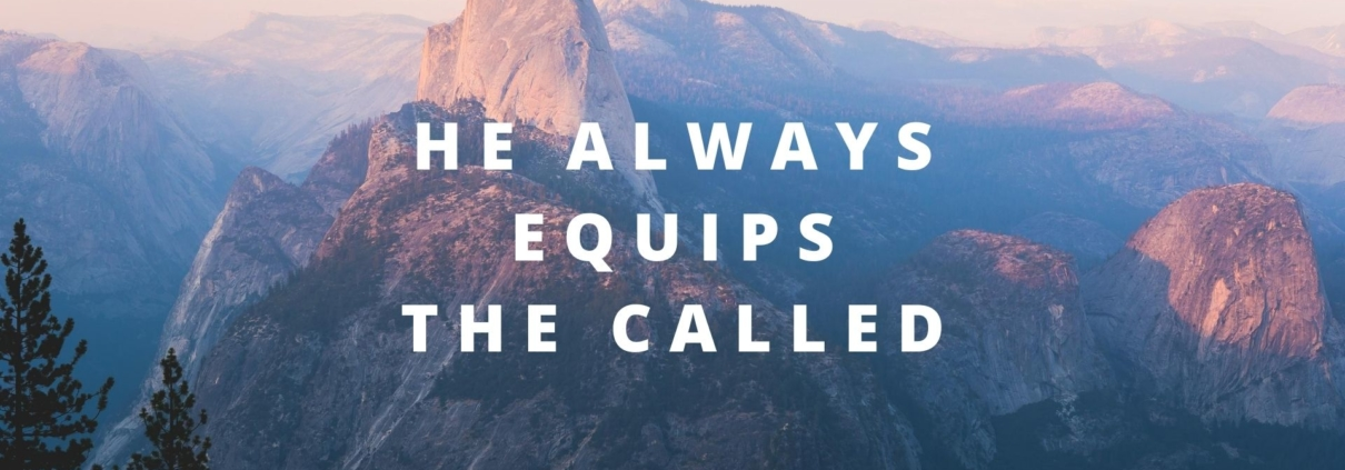 he always equips the called